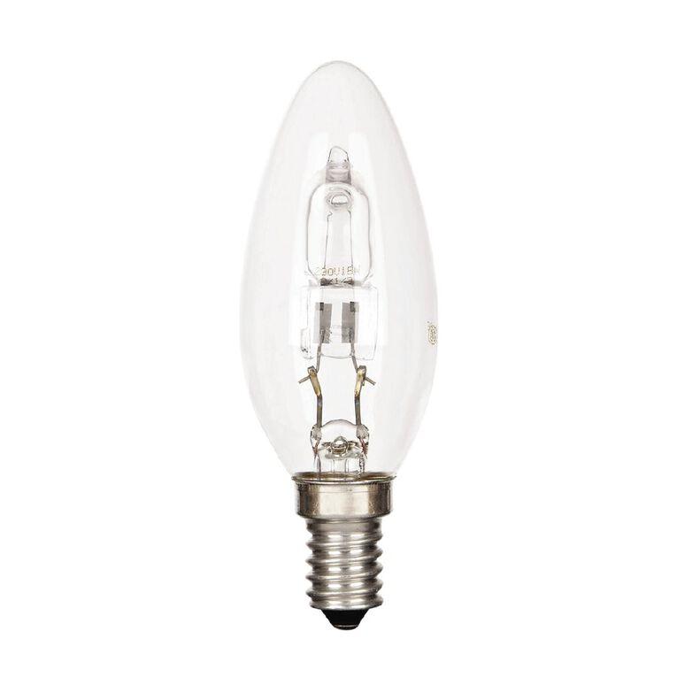 General Electric E14 Halogen Candle Light Bulb 30W, , hi-res