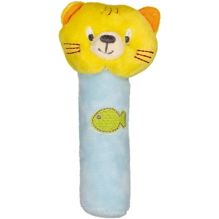 Little Pals Kimberly the Cat Rattle Stick, , hi-res