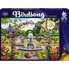 Puzzle Birdsong Series 2 1000 Piece Assortment