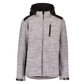 Active Intent Men's Bonded Hooded Jacket