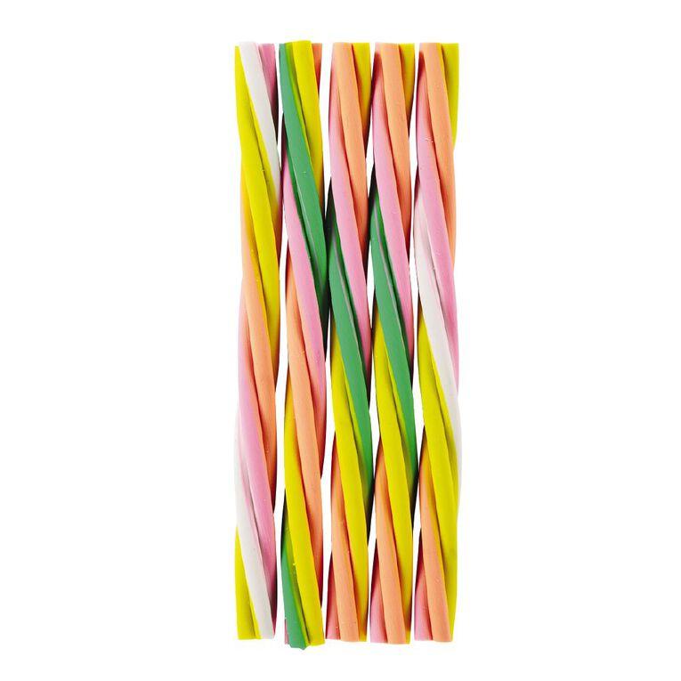 Kookie Novelty Eraser Set Rainbow 5 Pieces, , hi-res