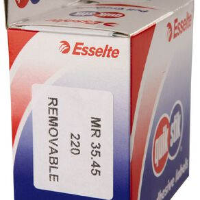 Quik Stik Labels Mr3545 35mm x 45mm 220 Pack White