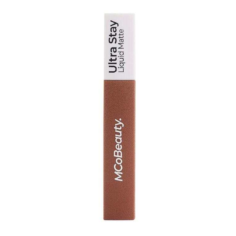 MCoBeauty Ultra Stay Liquid Matte Lipstick Cool Honey, , hi-res