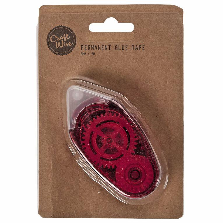 Uniti Glue Roller Red 1 Pack, , hi-res
