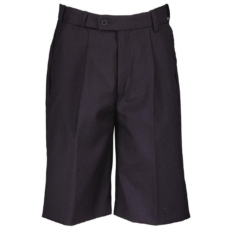 Schooltex School Shorts, Ink, hi-res