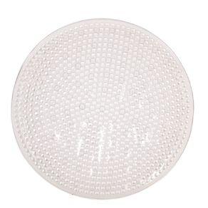 Living & Co Bath Mat Round Clear 50cm