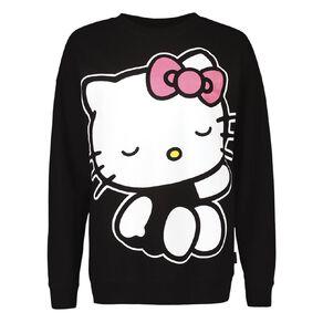 Hello Kitty Women's Long Sleeves Lounge Sweatshirt