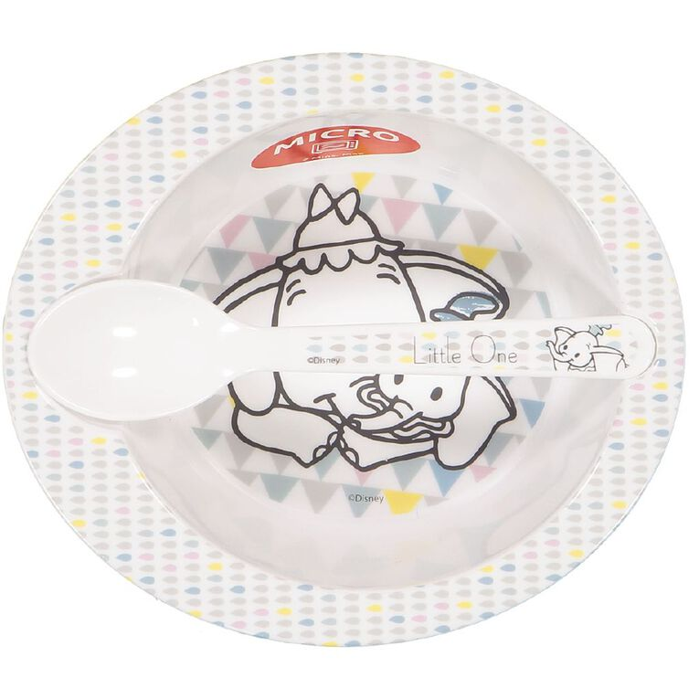 Dumbo Bowl and Spoon Set, , hi-res