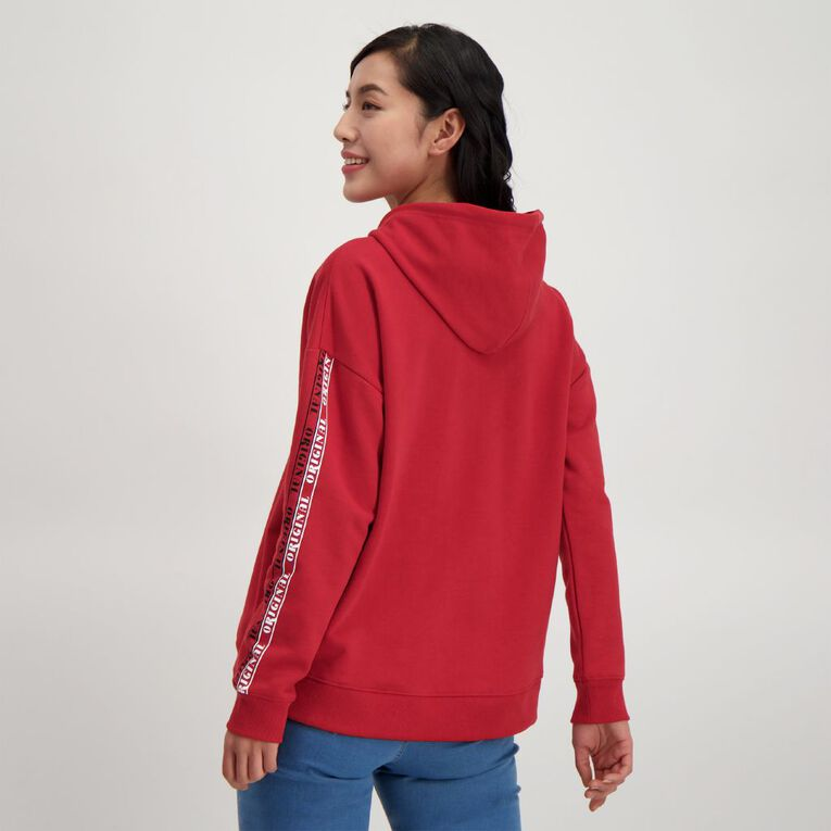 H&H Women's Classic Hoodie, Red Mid, hi-res
