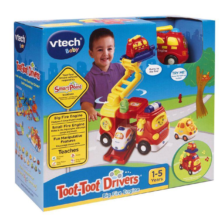 Vtech Toot Toot Drivers Big Fire Engine, , hi-res