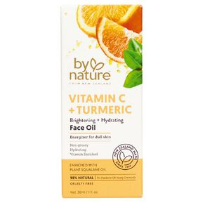 By Nature Vitamin C and Tumeric Face Oil 30ml