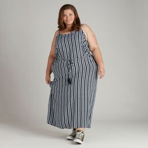 H&H Plus Women's Strappy Maxi Dress