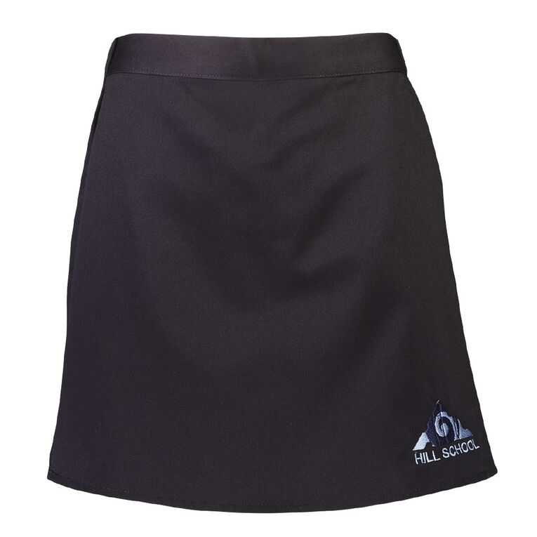 Schooltex Pukekohe Hill New Skort with Embroidery, Navy, hi-res