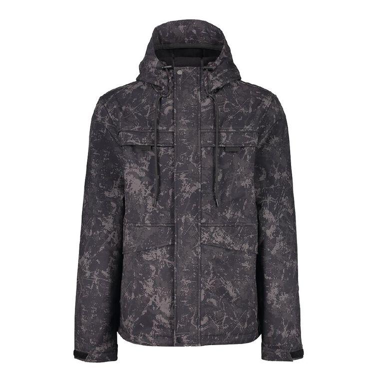 Garage Men's Spray Jacket, Grey Dark, hi-res