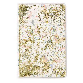 Kookie Enchanted Clear Liquid Notebook Clear A5