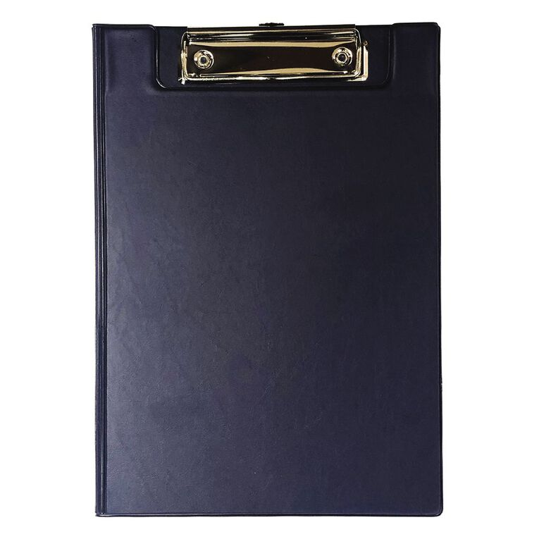 GBP Stationery Double Clipboard Navy A5, , hi-res
