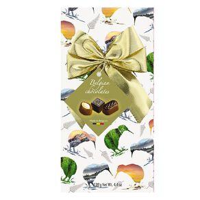 Belgian Chocolates Kiwi Silhouette Gift Box 125g