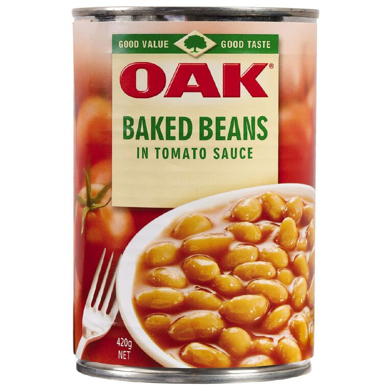 Oak Baked Beans 420g, , hi-res