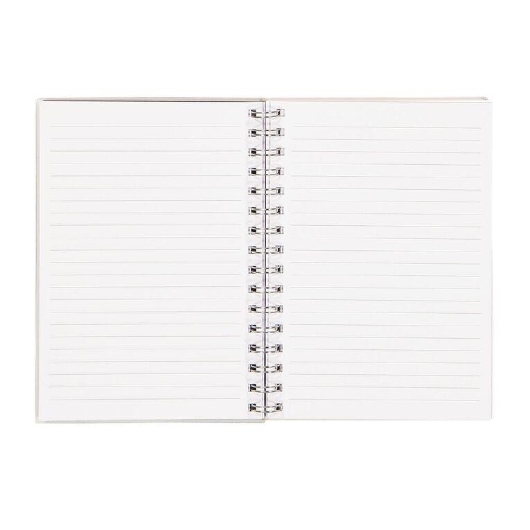 Kookie Novelty20 Notebook Space Glitter A5, , hi-res