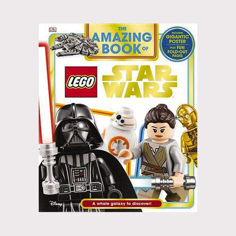 The Amazing Book of LEGO Star Wars, , hi-res