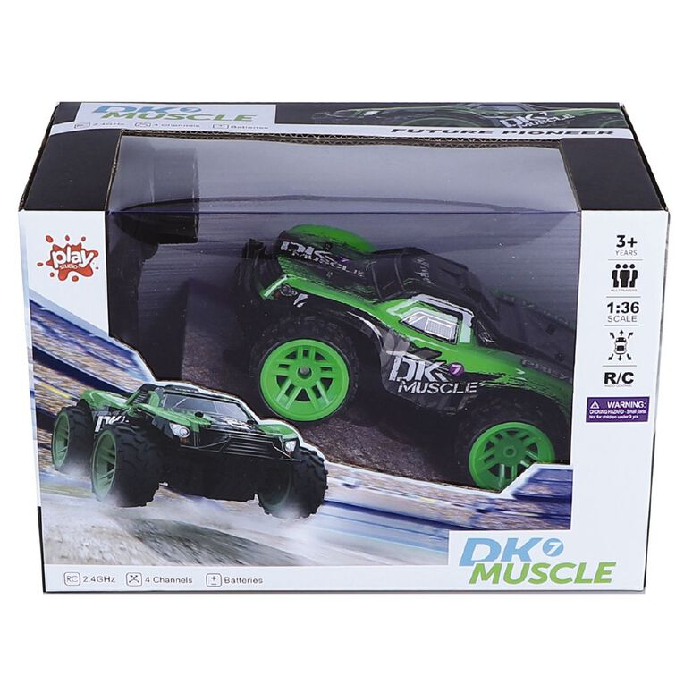 Radio Controlled 2.4g DK7 Muscle Car, , hi-res