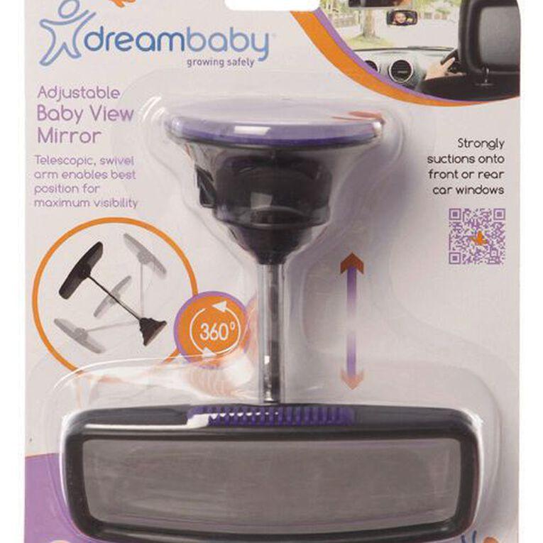 Dreambaby Safety Deluxe Adjustable Baby View Mirror, , hi-res