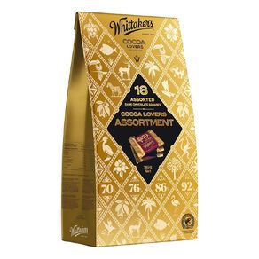 Whittaker's Cocoa Lovers Chocolate Assorted Selection 189g