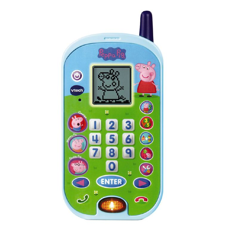 Vtech Peppa Pig Lets Chat Learning Phone, , hi-res