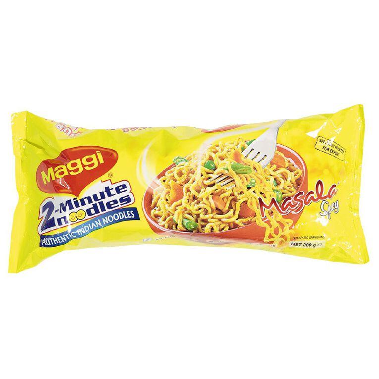 Maggi 2 Minute Noodles Masala 4 Pack, , hi-res