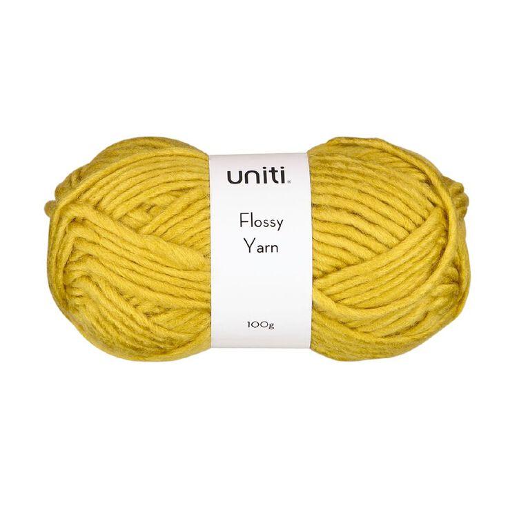 Uniti Yarn Flossy 100g Tawny, , hi-res