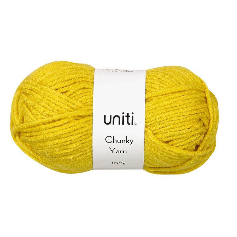 Uniti Yarn Chunky 100g Mustard, , hi-res