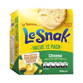 Le Snak Cheese 12 Pack