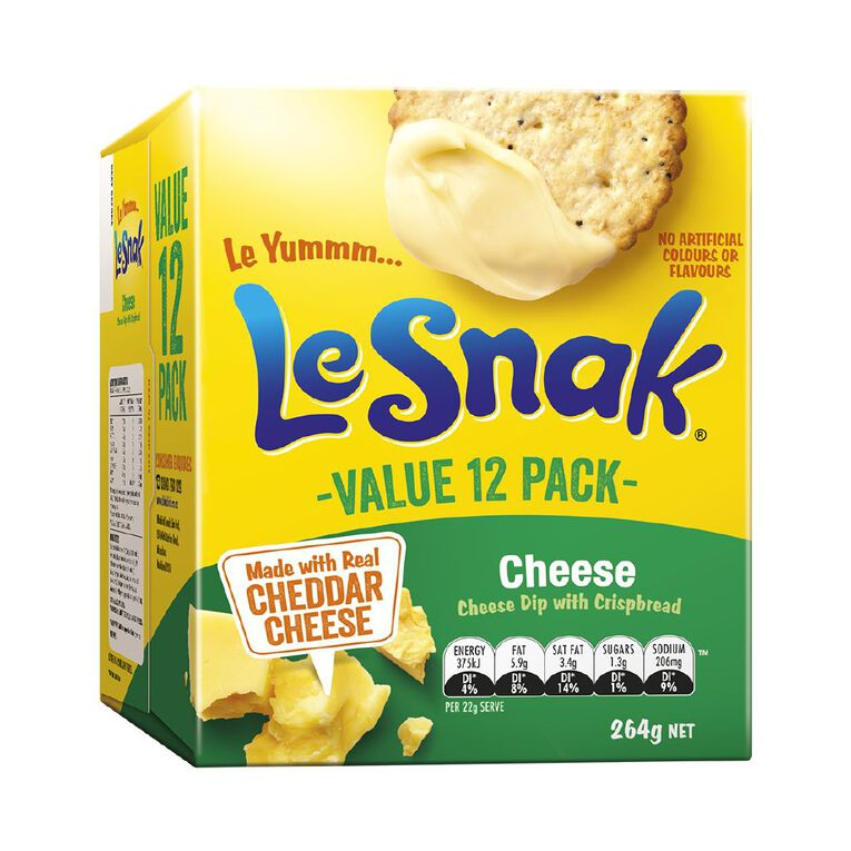 Le Snak Cheese 12 Pack, , hi-res