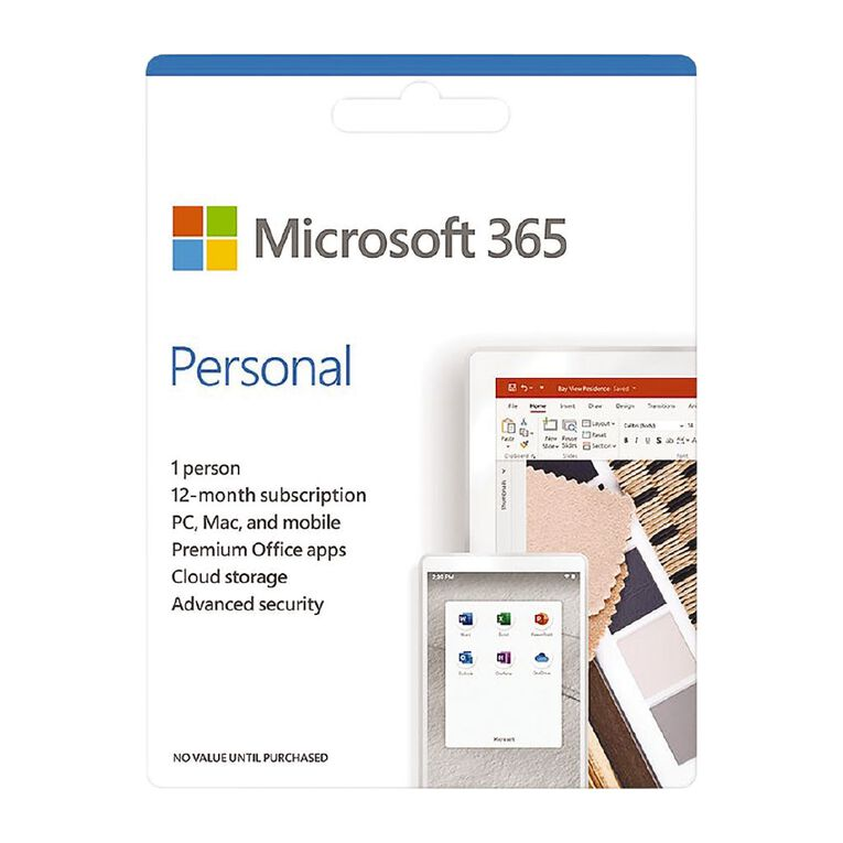 Microsoft Office 365 - Personal Subscription, , hi-res