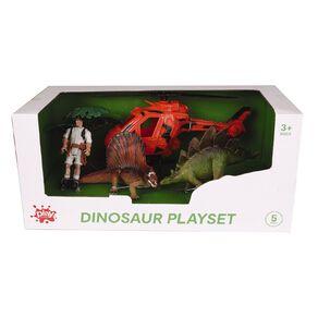 Play Studio Dinosaur Play Set 5 Piece Assorted