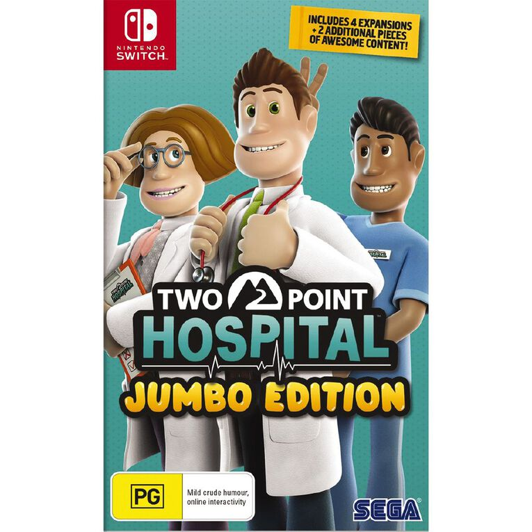 Nintendo Switch Two Point Hospital: JUMBO Edition, , hi-res