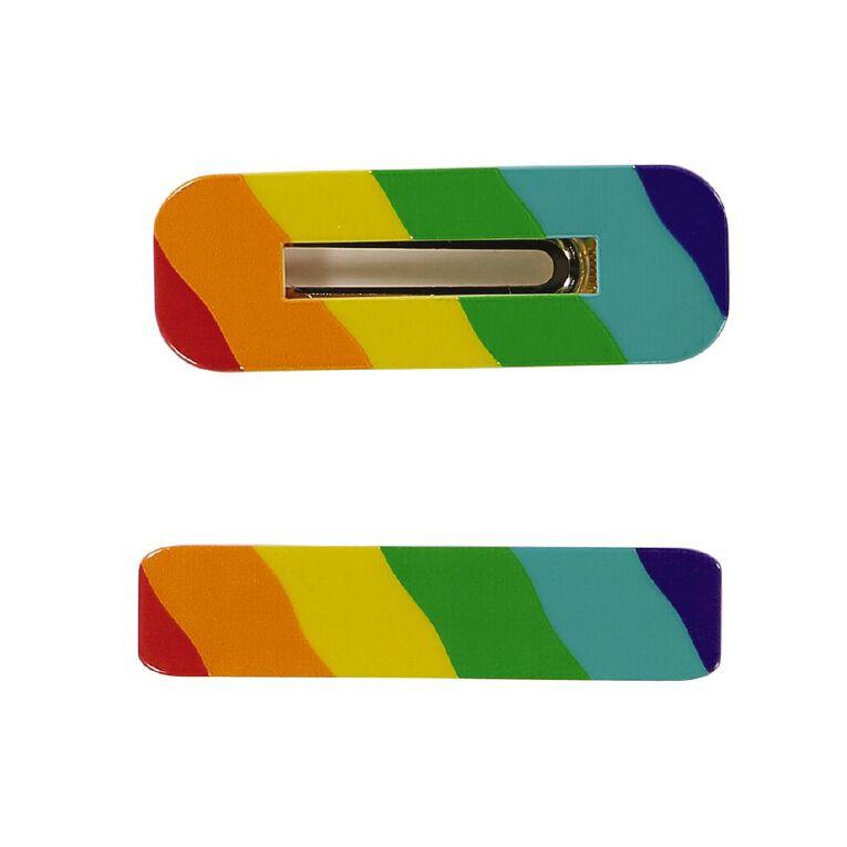 Rainbow Clip Set 2 Pack, , hi-res