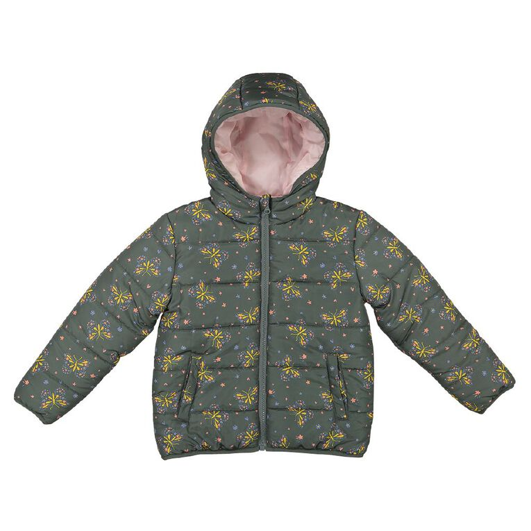 Young Original Reversible Puffer Jacket, Blue Mid, hi-res
