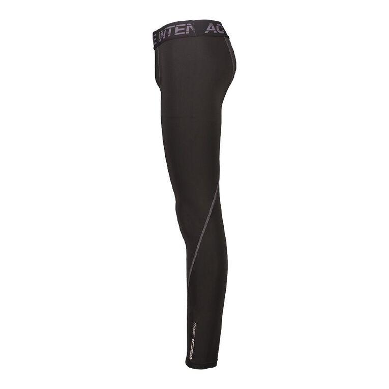Active Intent Men's Compression Pants, Black, hi-res