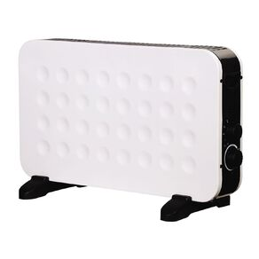Living & Co Convector Heater With Fan 2000W White
