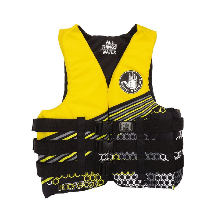 Body Glove Buoyancy Aid Adult Yellow Small, , hi-res