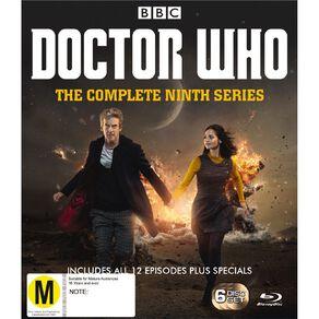 Doctor Who (2015) Season 9 Blu-ray 6Disc