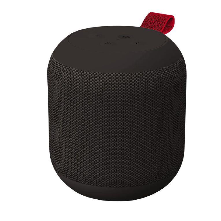 Veon IPX6 Water Resistant Bluetooth Speaker Black, , hi-res