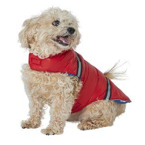 Petzone Reversible Puffer Jacket Red/Blue Large