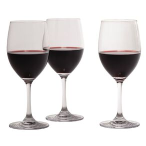 Living & Co Traditional Red Wine Glass 6 Pack 450ml