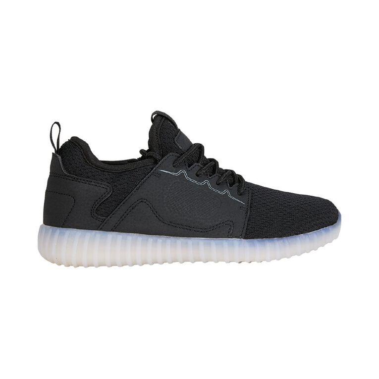 Active Intent Kids Token Shoes, Black, hi-res