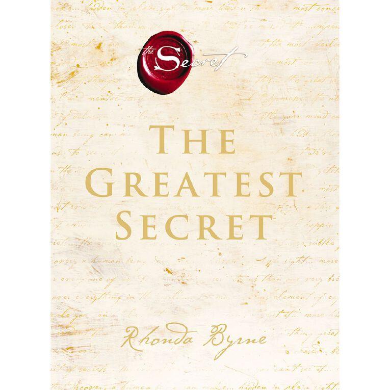The Greatest Secret by Rhonda Byrne, , hi-res