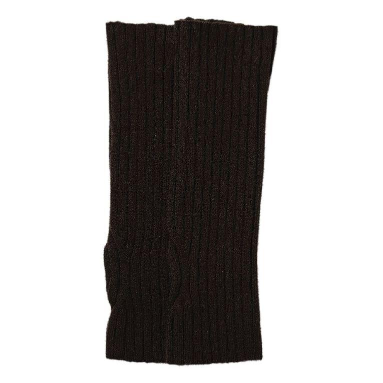 H&H Women's Rib GL Gloves, Black, hi-res