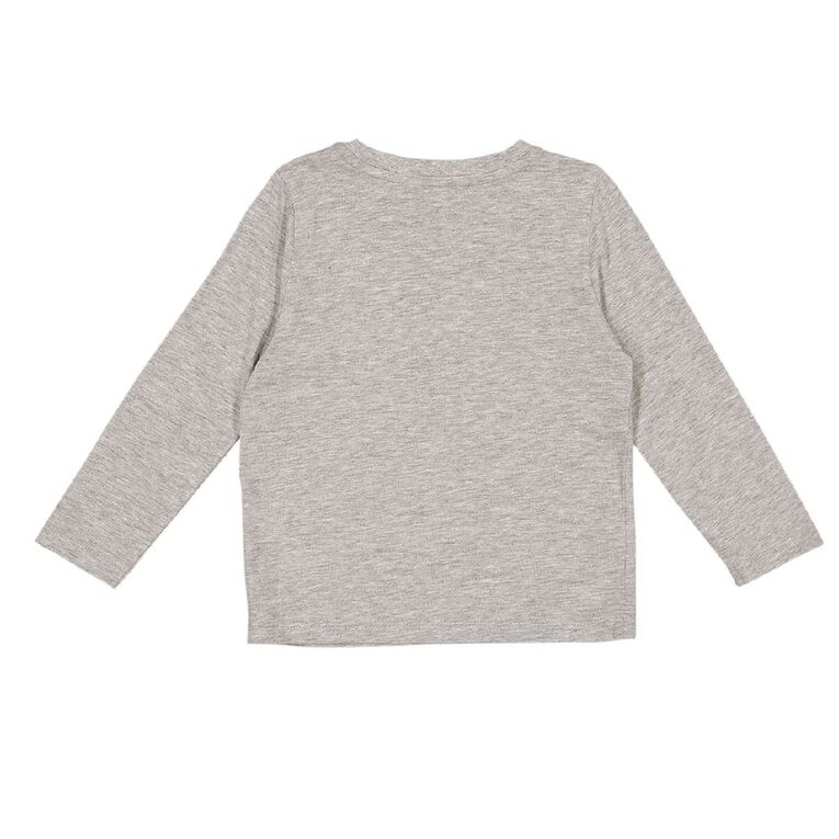 Young Original Toddler 2 Pack Long Sleeve Tees, Grey Mid BEEP, hi-res