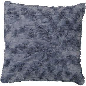Living & Co Textured Faux Fur Cushion Mirage 50cm x 50cm